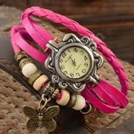 Vintage watch-Pink