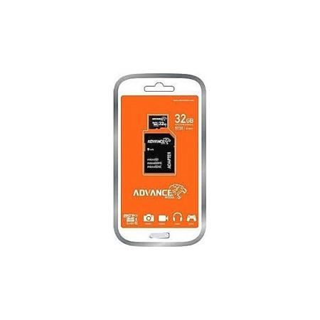 Advance Micro SD HC Memory Card - 32gb - Black