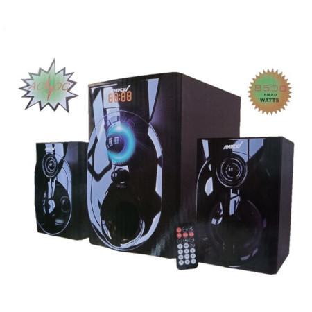 Ampex 2.1CH Subwoofer Bluetooth System-FM,AC/DC,USB,SD