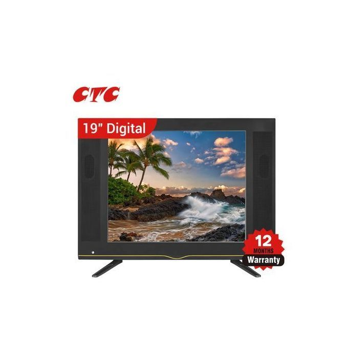 CTC Digital LED TV HD Clear Images AC/DC 19'' Inches