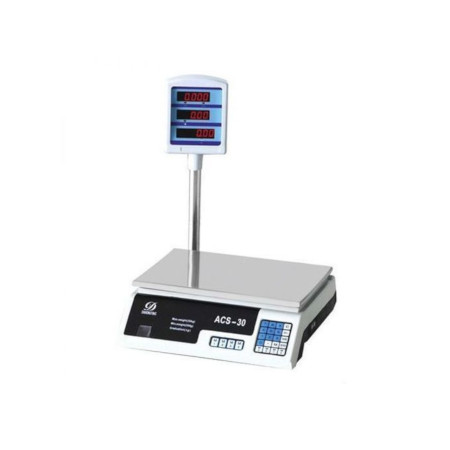 Digital Scale Electronic Market Balance Weighing Machine for Fruits,Meats,Vegetables Price -30KG