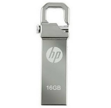 HP 16 GB USB Flash Disk - Silver
