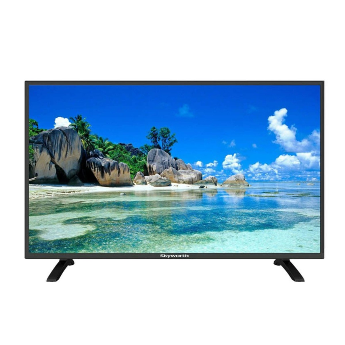 "SKYWORTH 32"" HD LED DIGITAL TV - Black"