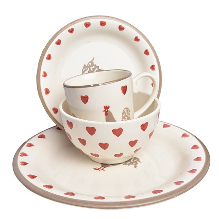 16pc Love Dinner Set
