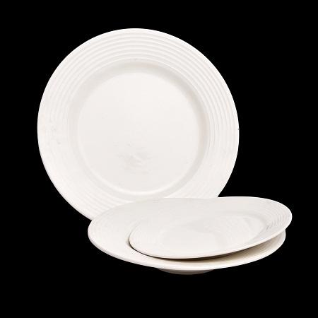 20pcs Embosse Dinner Plate