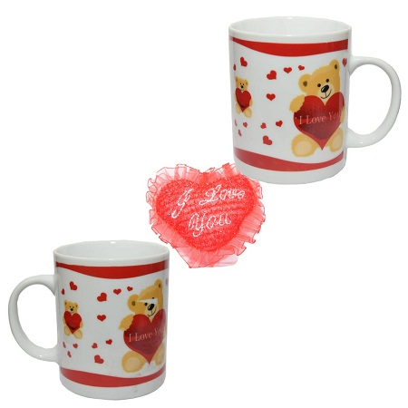 2pc setLove mug