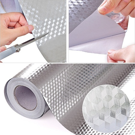 Aluminium drawer liner