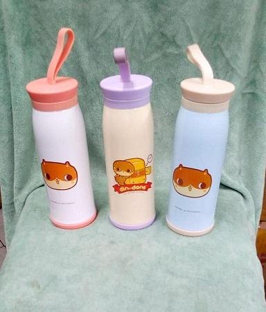 Animal strap flask