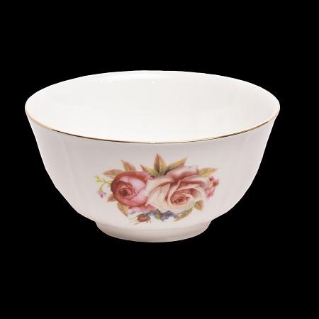 Bone China Big Rose Bowl
