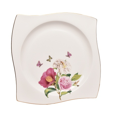 Carnation Bone China Dinner Plate