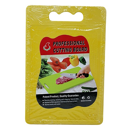 Chopping board rectangle with knife