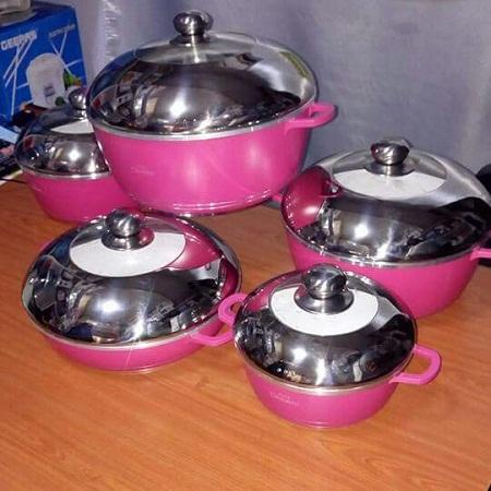 Dessin Pot 10 pc ceramic color