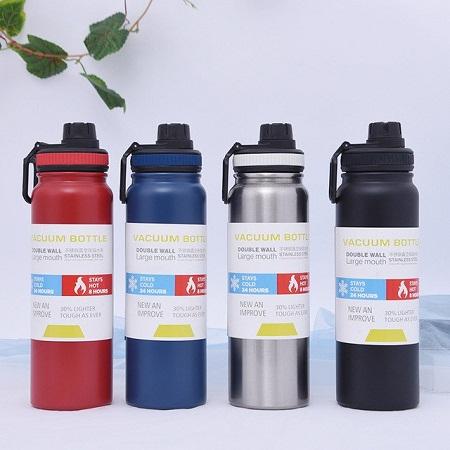Double Wall Sport Vacuum Bottle 800ml