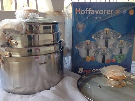 Hoffavorer 8 pc Cooking Pot