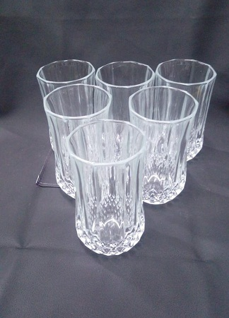 Long Ice Cube Glass