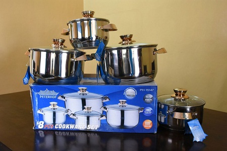 Peterhoff 8 pc stainless