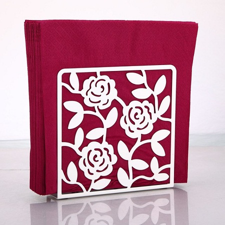 Plastic serviette holder