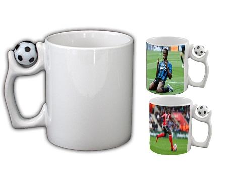 Printable white mug