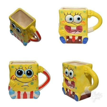 Spongy bob mug