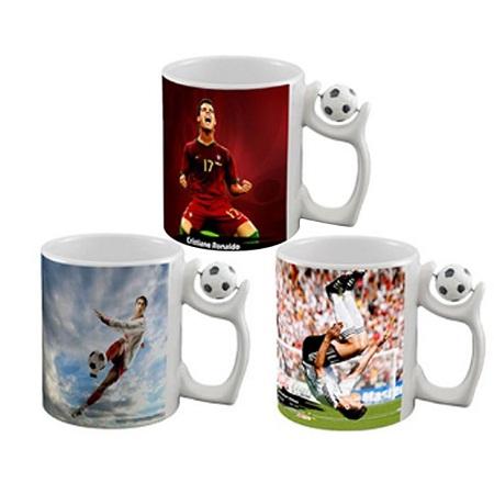 sublimation Football printable mug 1 pc