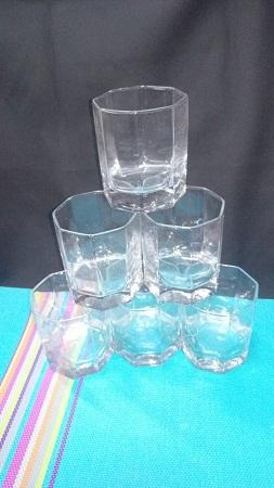 Sunda Shot Glasses with Corner
