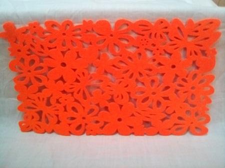 Table mat felt luminous