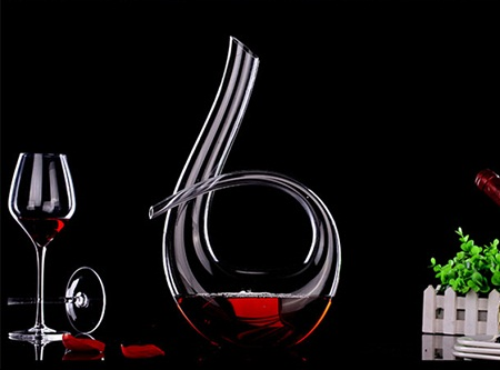 Wine Decanter glass 6 shaped 1200ml