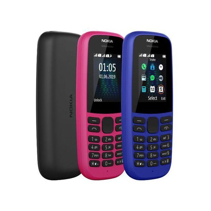 Nokia 105 (2019) (Dual SIM), 1.77inch ,4MB