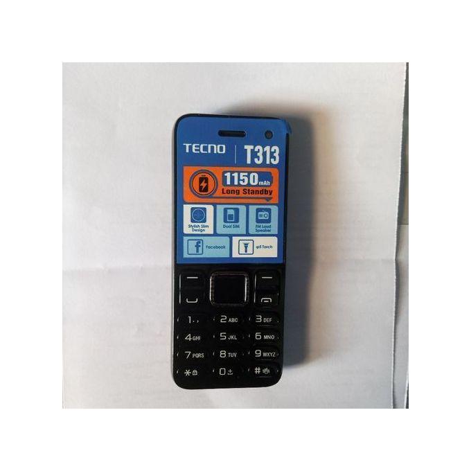 Tecno T313 Dual Sim- Black