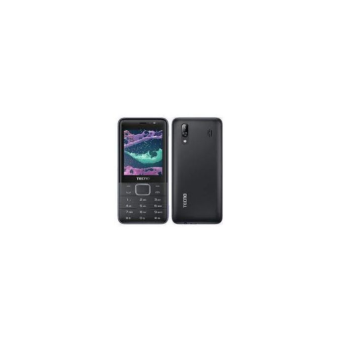Tecno T474 8MB ROM + 8MB RAM Dual Sim, 2.8inch - Black