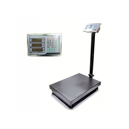 Generic Digital Weighing Scale with Flat Bed 300kgs Auto Price Calculate