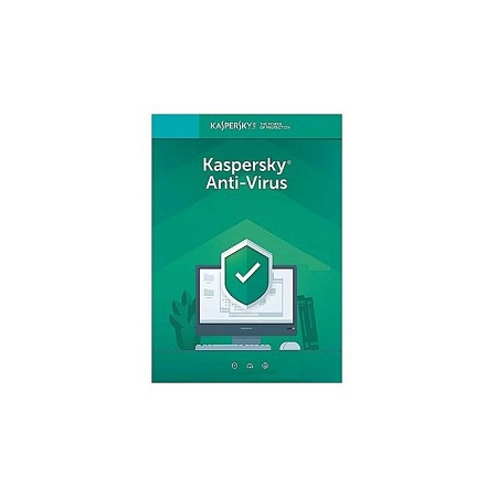 Kaspersky Antivirus 2019- 2 users -1 year licenses