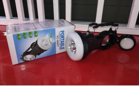 Portable Hanging Flip LED Solar Torch