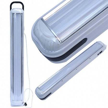 Portable Indoor Lighting Mountable Rechargeable LED Emergency Light Lamp White