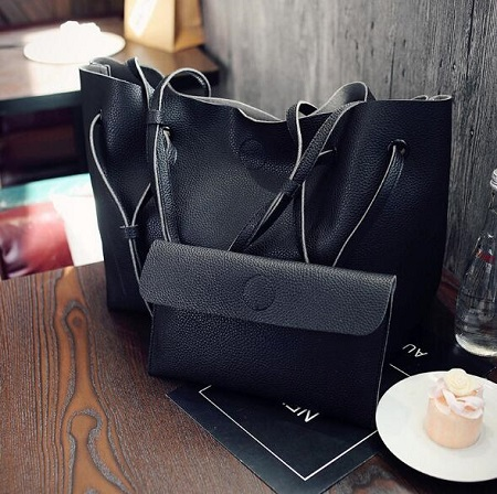 2 in 1 fashionable Ladies handbag, Big Capacity