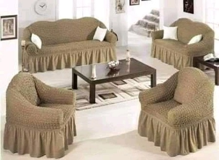 Stretchable Sofa Seat Cover 7 Seater (3,2,1,1)