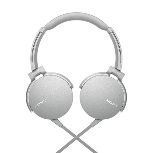 Sony MDR-XB550AP - Wired Headphones - White