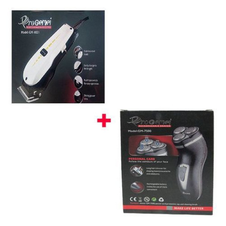 Progemei Shaving Machine+Free Rechargeable Smoother