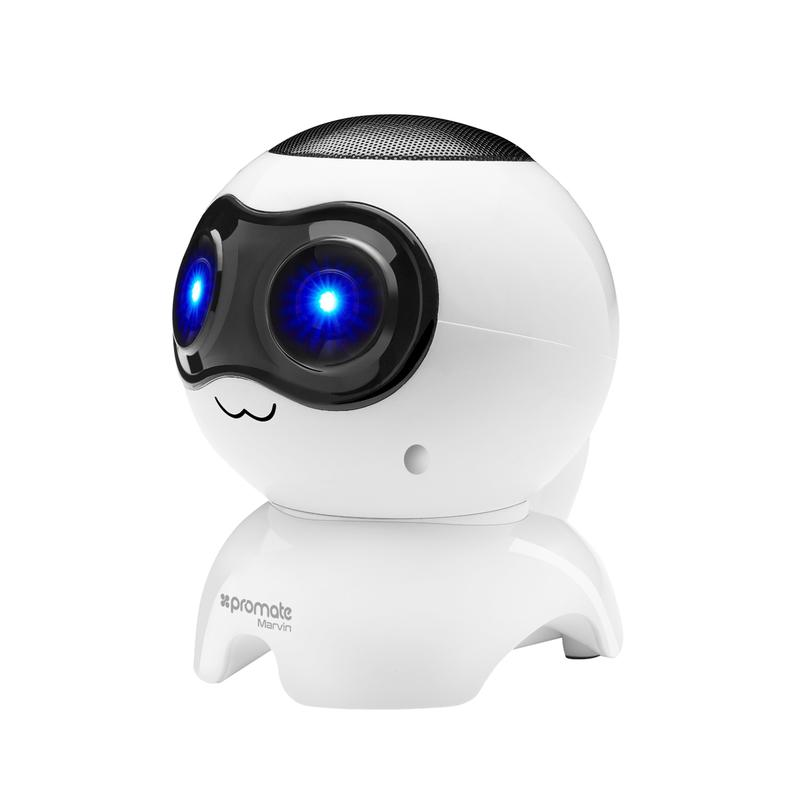Kids Puppy Wireless Speaker with LED Lights White- MARVIN