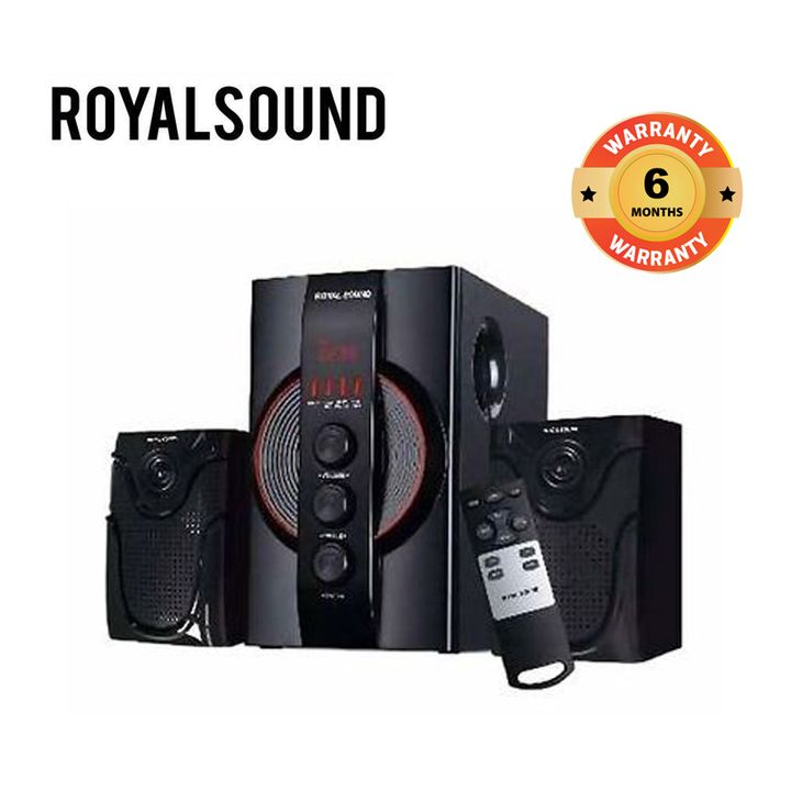 Royal Sound P30 2.1Ch Subwoofer Speaker 8500W Black 8500W P30
