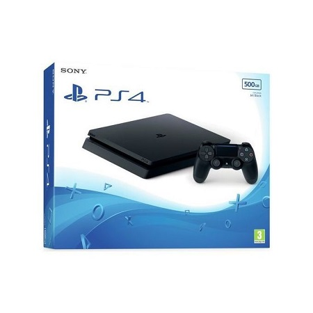 Sony PS4 Console Slim 500GB Black
