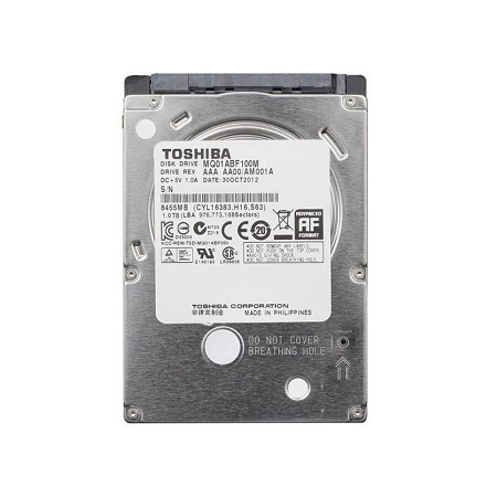 Toshiba 1TB Slim Laptop Internal Hard Disk Drive HDD 9.5mm 5400RPM MQ04ABF100