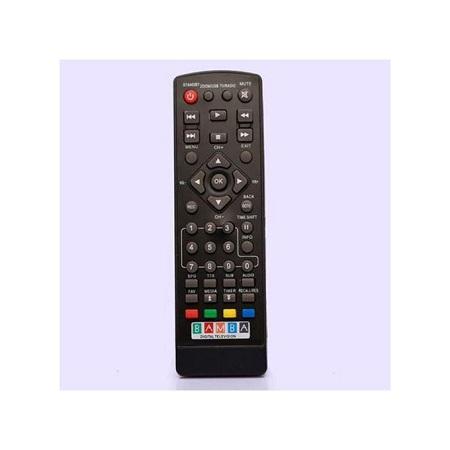 Bamba Universal Decorder Remote Control - Black