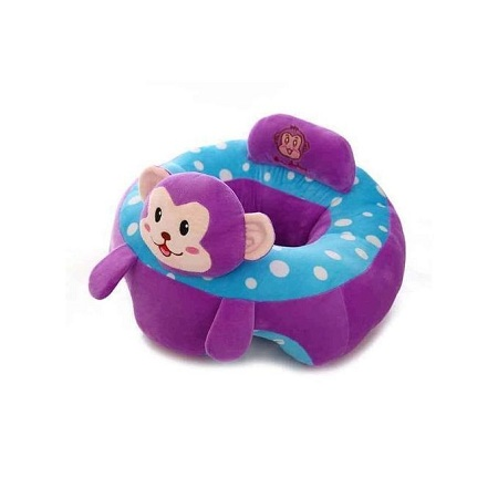 Fashion Cool Baby Support Sit Me Up Pillow - Purple & Blue
