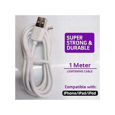 Punex USB Data 1M Cable Compatible With IPhone/iPad/iPod