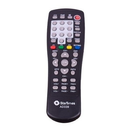 Startimes – Remote Control Replacement for AD339 StarTimes Decoder