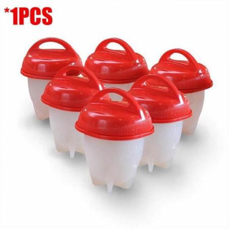 6pcs/set Silicone Egg Boil Cup