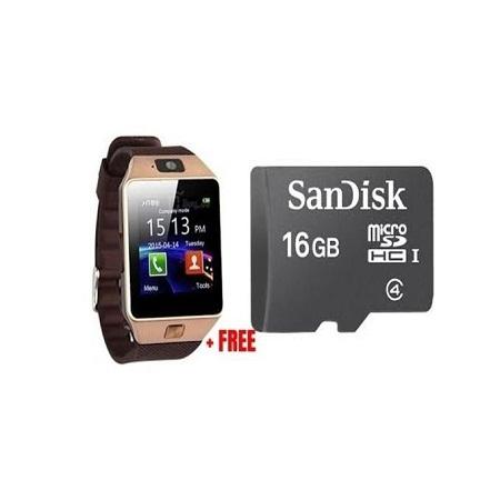 Barry Smart watch Plus Free Memorycard Gold