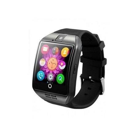 Q18 Smart Watch Phone – Single SIM - Silver/Black