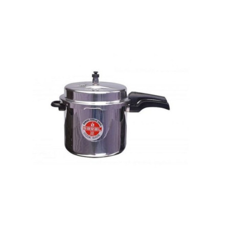 Aluminium Pressure Cooker - With SAFETY Valve 10L